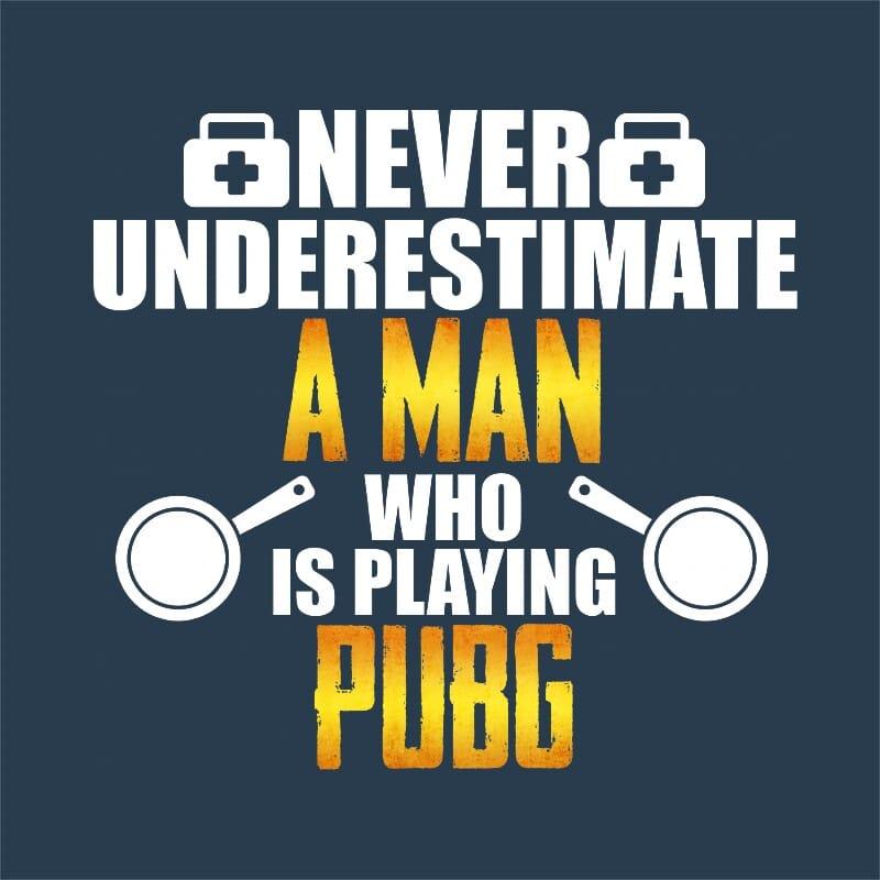 Man PUBG Póló - Ha Playerunknowns Battlegrounds rajongó ezeket a pólókat tuti imádni fogod!