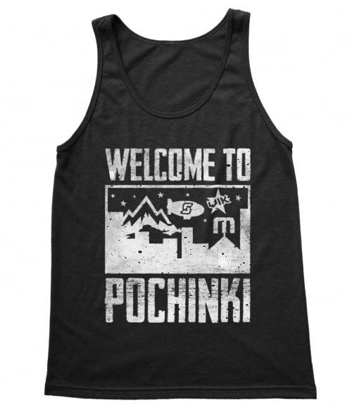 Welcome to Pochinki Póló - Ha Playerunknowns Battlegrounds rajongó ezeket a pólókat tuti imádni fogod!