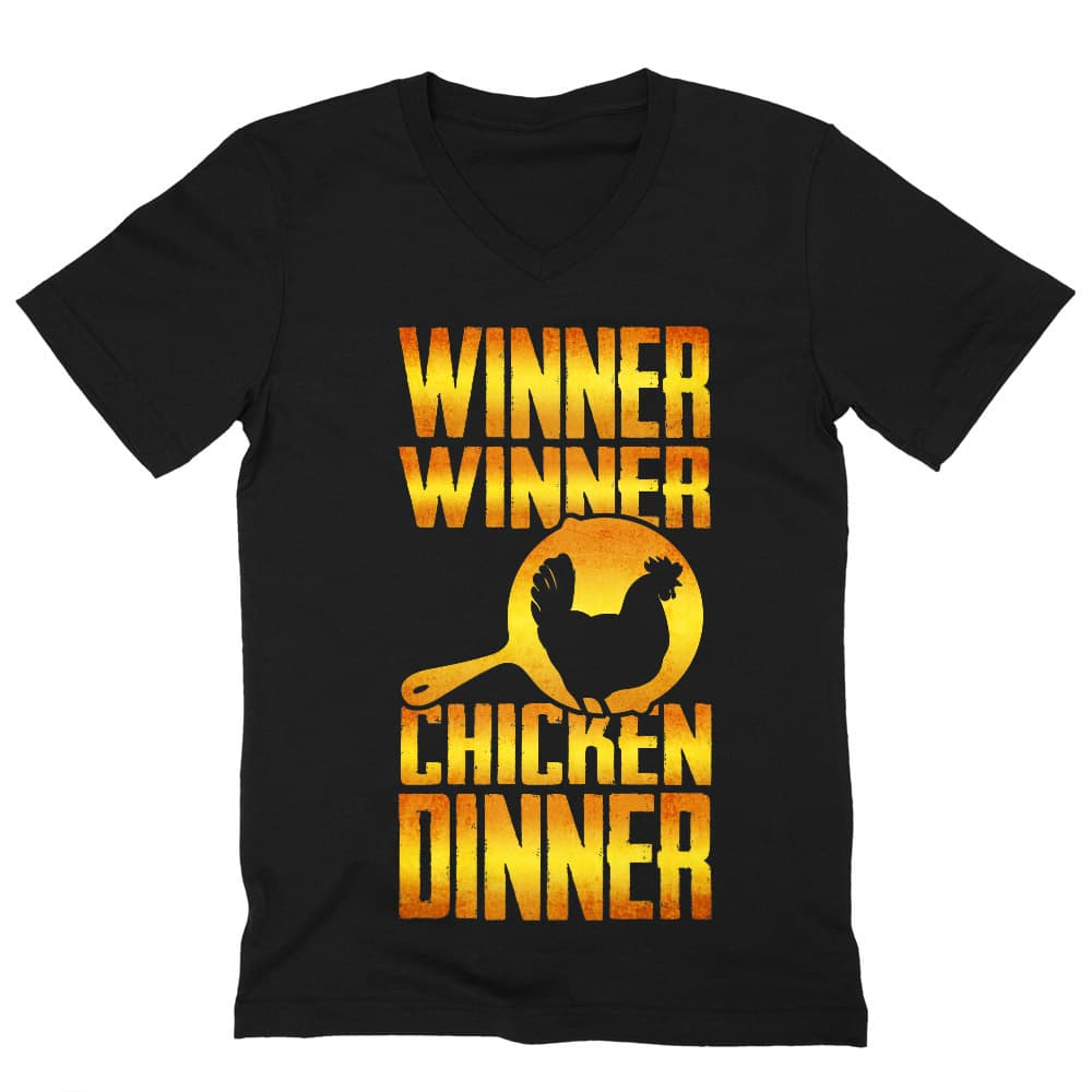 Winner winner chicken dinner Póló - Ha Playerunknowns Battlegrounds rajongó ezeket a pólókat tuti imádni fogod!
