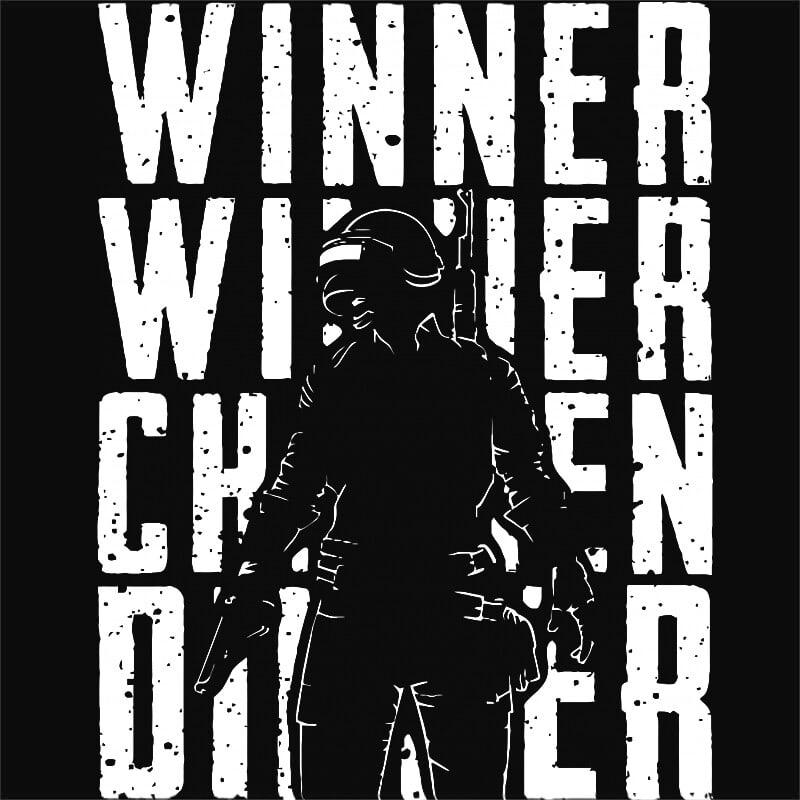 Winner winner Póló - Ha Playerunknowns Battlegrounds rajongó ezeket a pólókat tuti imádni fogod!