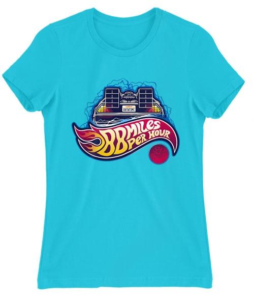 88 Miles Hot Wheels Póló - Ha Back to the Future rajongó ezeket a pólókat tuti imádni fogod!