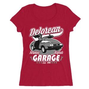 a3051f9071 Delorean Garage Póló - Back to the Future