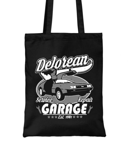 Delorean Garage Póló - Ha Back to the Future rajongó ezeket a pólókat tuti imádni fogod!