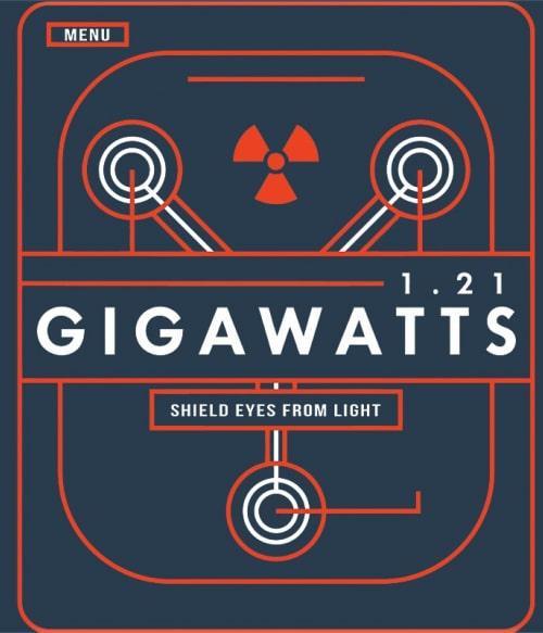 Gigawatts Póló - Ha Back to the Future rajongó ezeket a pólókat tuti imádni fogod!