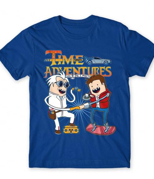 Time Travel Adventures Póló - Ha Back to the Future rajongó ezeket a pólókat tuti imádni fogod!