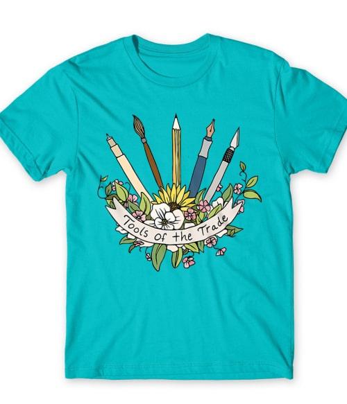 Tools of the trade Póló - Ha Art rajongó ezeket a pólókat tuti imádni fogod!