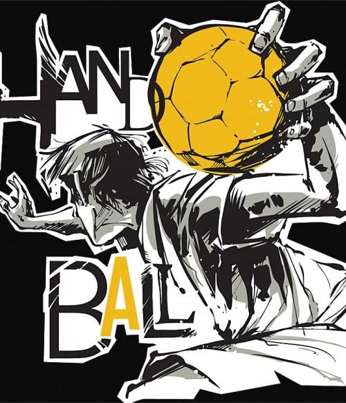 Handball Player Póló - Ha Handball rajongó ezeket a pólókat tuti imádni fogod!