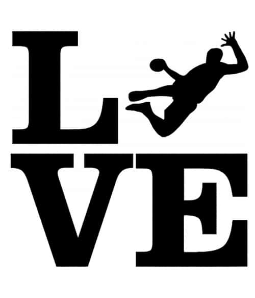 Hanball Love Póló - Ha Handball rajongó ezeket a pólókat tuti imádni fogod!