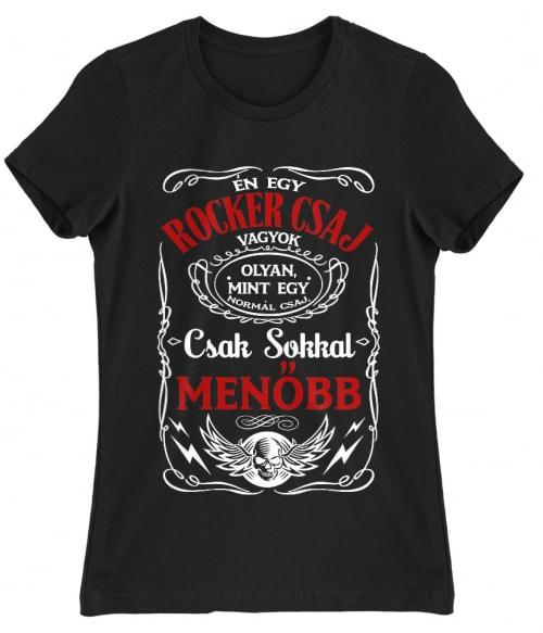 Rocker csaj vagyok Póló - Ha Rocker rajongó ezeket a pólókat tuti imádni fogod!