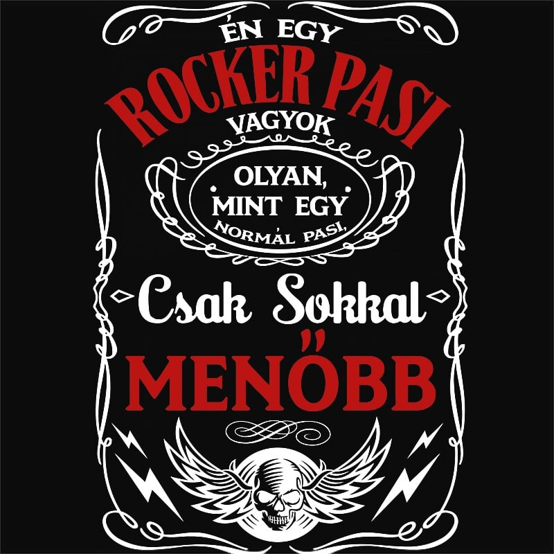 Rocker pasi vagyok Póló - Ha Rocker rajongó ezeket a pólókat tuti imádni fogod!