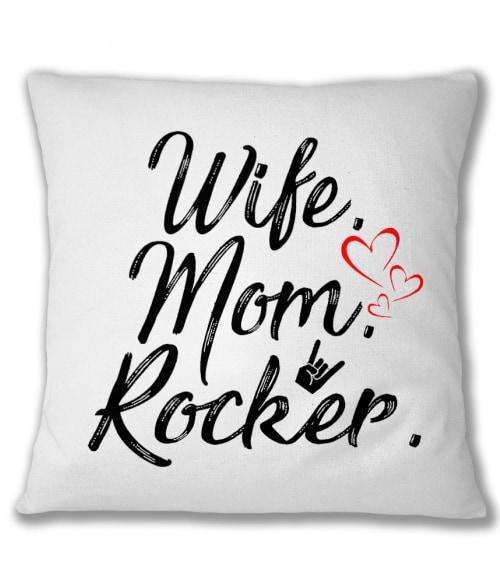 Wife mom rocker Póló - Ha Rocker rajongó ezeket a pólókat tuti imádni fogod!