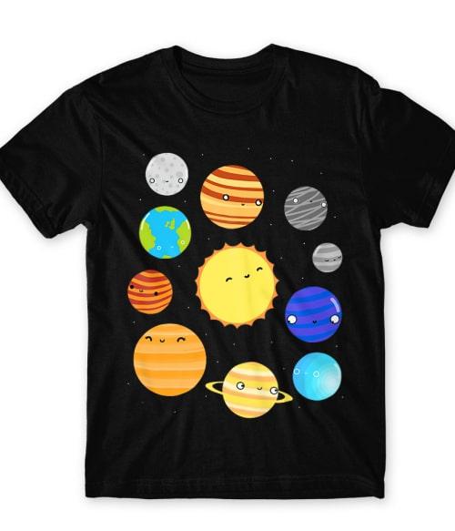 Cute planets Póló - Ha Astronomy rajongó ezeket a pólókat tuti imádni fogod!