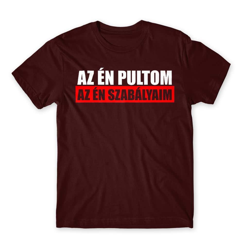 Az én pultom Póló - Ha Bartender rajongó ezeket a pólókat tuti imádni fogod!