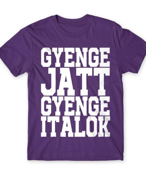 Gyenge Jatt Póló - Ha Bartender rajongó ezeket a pólókat tuti imádni fogod!