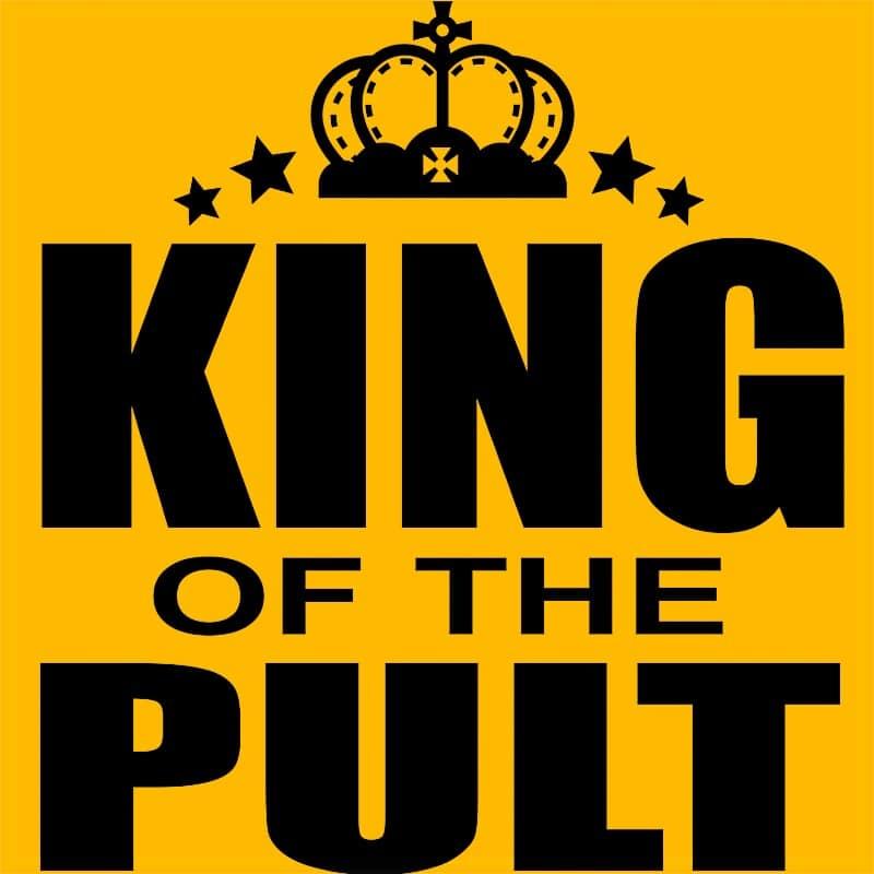 King of the Pult Póló - Ha Bartender rajongó ezeket a pólókat tuti imádni fogod!