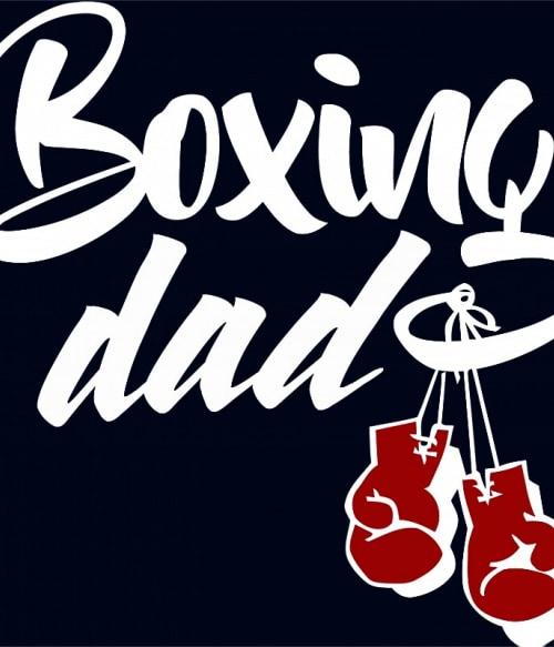 Boxing Dad Póló - Ha Boxing rajongó ezeket a pólókat tuti imádni fogod!