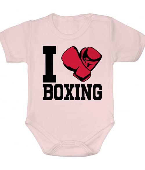 I Love Boxing Póló - Ha Boxing rajongó ezeket a pólókat tuti imádni fogod!