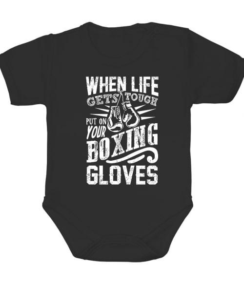 Put on your boxing gloves Póló - Ha Boxing rajongó ezeket a pólókat tuti imádni fogod!