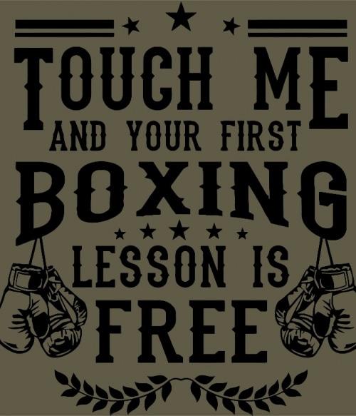 Touch Me Póló - Ha Boxing rajongó ezeket a pólókat tuti imádni fogod!