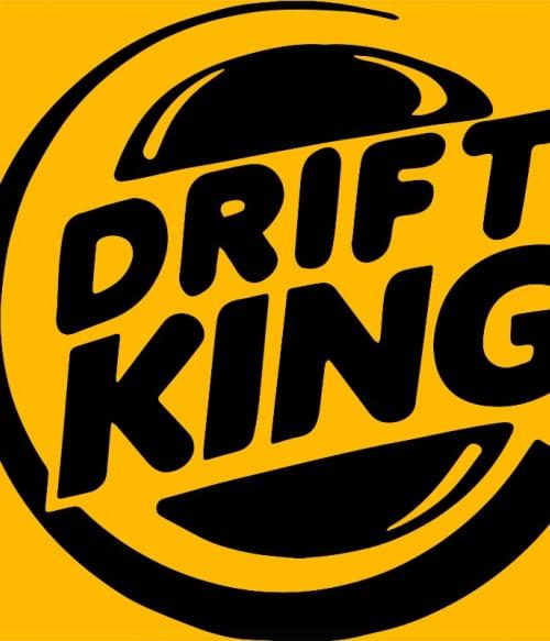 Drift King Póló - Ha Brand Parody rajongó ezeket a pólókat tuti imádni fogod!