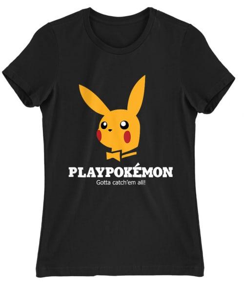 Playpokémon Póló - Ha Brand Parody rajongó ezeket a pólókat tuti imádni fogod!