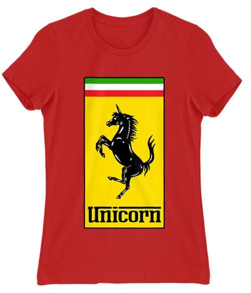 Unicorn Ferrari Póló - Ha Brand Parody rajongó ezeket a pólókat tuti imádni fogod!