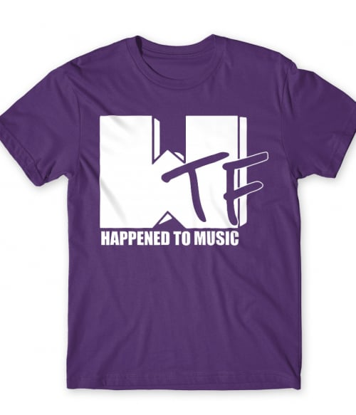 WTF Happend to Music Póló - Ha Brand Parody rajongó ezeket a pólókat tuti imádni fogod!