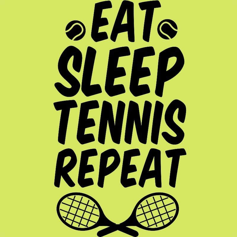 Eat sleep tennis Póló - Ha Tennis rajongó ezeket a pólókat tuti imádni fogod!