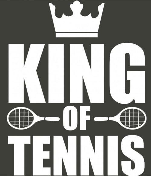 King of tennis Póló - Ha Tennis rajongó ezeket a pólókat tuti imádni fogod!