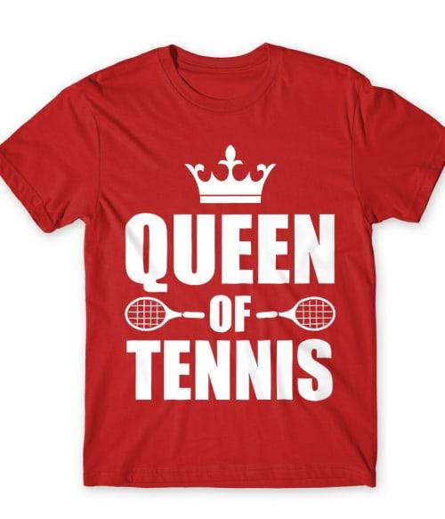 Queen of tennis Póló - Ha Tennis rajongó ezeket a pólókat tuti imádni fogod!