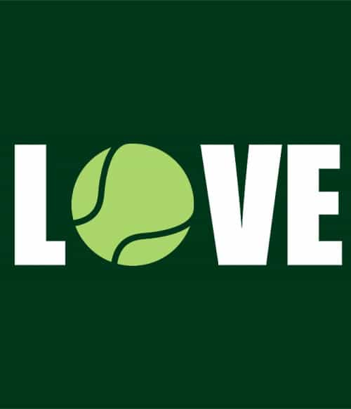 Tennis ball love Póló - Ha Tennis rajongó ezeket a pólókat tuti imádni fogod!