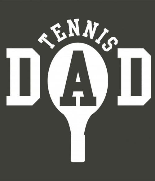 Tennis dad Póló - Ha Tennis rajongó ezeket a pólókat tuti imádni fogod!