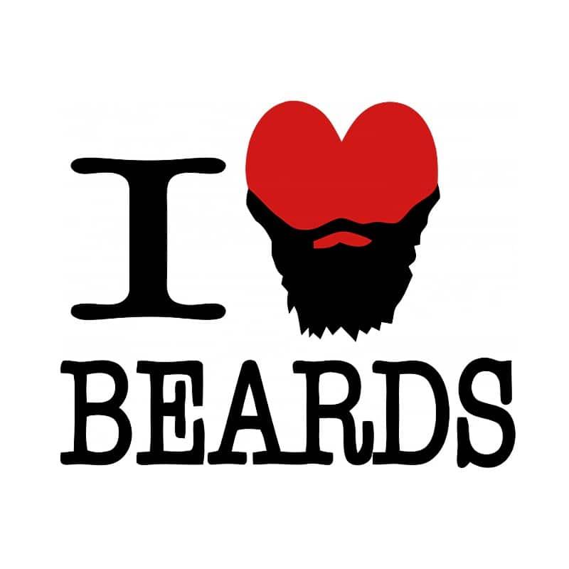 Szeretem a szakállat Póló - Ha Beard rajongó ezeket a pólókat tuti imádni fogod!