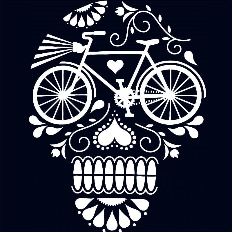 Bicycle Skull Póló - Ha Bicycle rajongó ezeket a pólókat tuti imádni fogod!