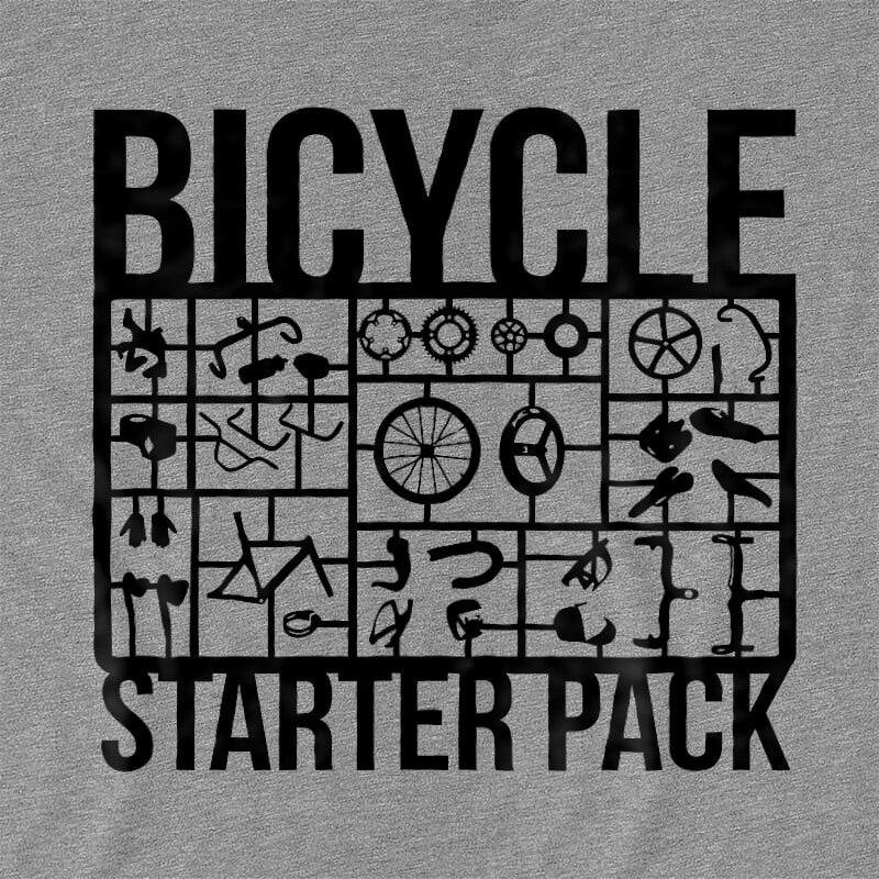 Bicycle Starter Pack Póló - Ha Bicycle rajongó ezeket a pólókat tuti imádni fogod!