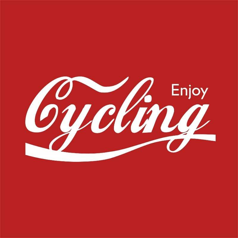 Enjoy Cycling Póló - Ha Bicycle rajongó ezeket a pólókat tuti imádni fogod!