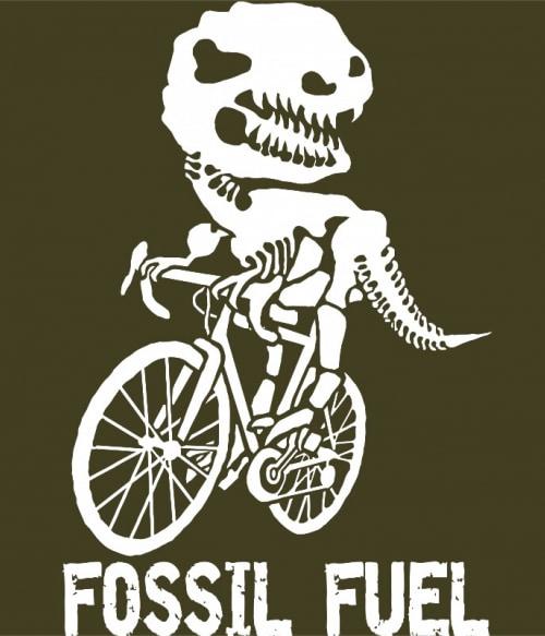 Fossil Fuel Póló - Ha Bicycle rajongó ezeket a pólókat tuti imádni fogod!
