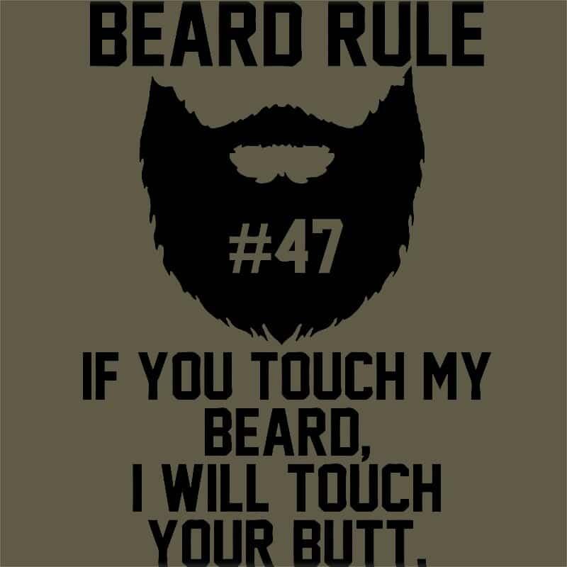 Szakál szabály 47 Póló - Ha Beard rajongó ezeket a pólókat tuti imádni fogod!
