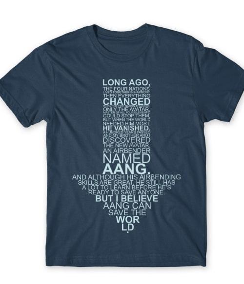 Text avatar sign Póló - Ha Avatar The Last Airbender rajongó ezeket a pólókat tuti imádni fogod!