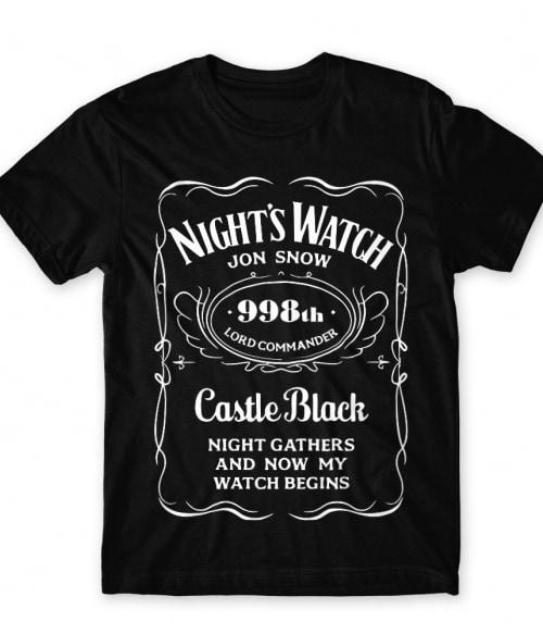 Jack Daniel's Jon Snow Póló - Ha Game of Thrones rajongó ezeket a pólókat tuti imádni fogod!