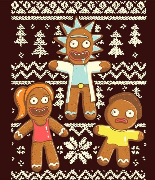 Rick Christmas Póló - Ha Rick and Morty rajongó ezeket a pólókat tuti imádni fogod!