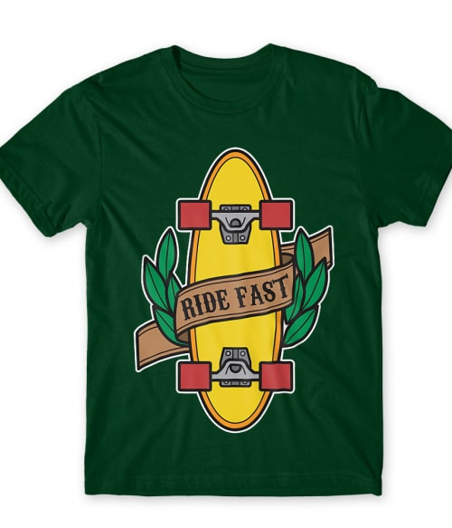 Ride Fast Póló - Ha Skateboard rajongó ezeket a pólókat tuti imádni fogod!