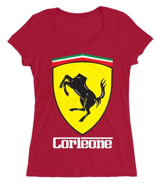 Corleone Ferrari Póló - Ha The Godfather rajongó ezeket a pólókat tuti imádni fogod!