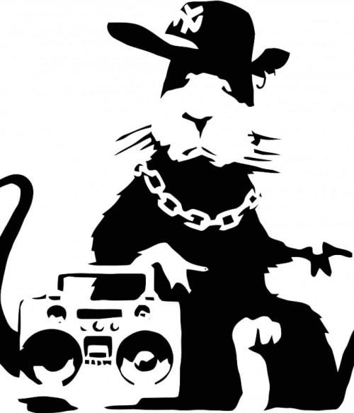 Gangsta rat Póló - Ha Graffiti rajongó ezeket a pólókat tuti imádni fogod!