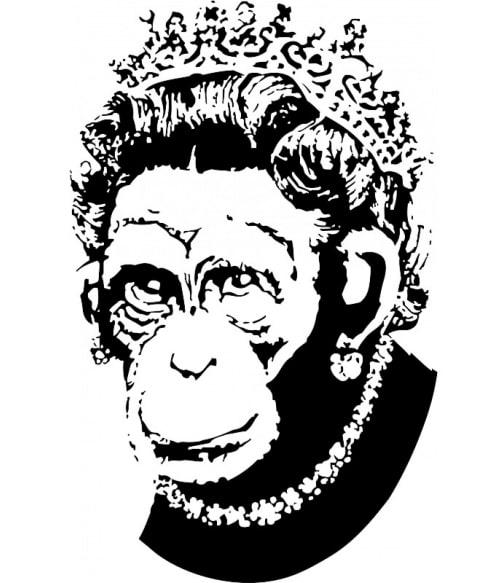 Monkey queen Póló - Ha Graffiti rajongó ezeket a pólókat tuti imádni fogod!