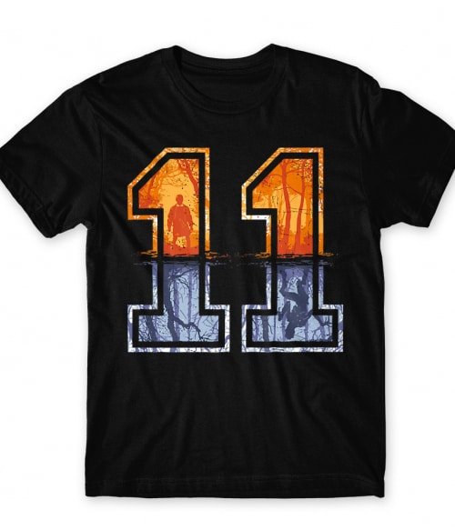 Eleven Numbers Póló - Ha Stranger Things rajongó ezeket a pólókat tuti imádni fogod!
