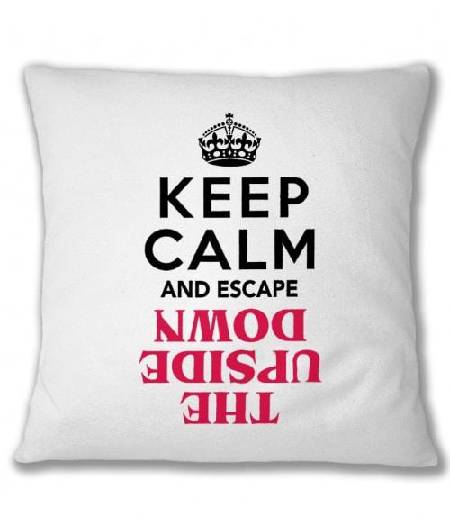 Keep Calm Upside Down Póló - Ha Stranger Things rajongó ezeket a pólókat tuti imádni fogod!