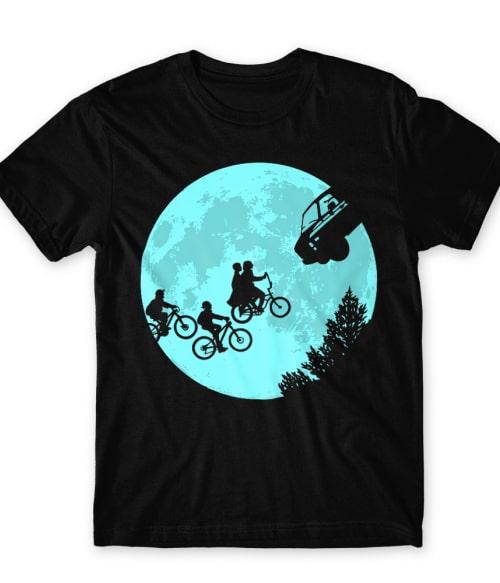 Stranger Moon Póló - Ha Stranger Things rajongó ezeket a pólókat tuti imádni fogod!