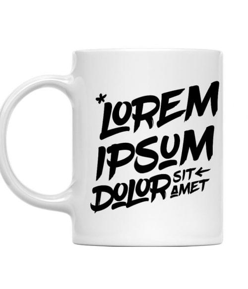Lorem ipsum Póló - Ha Graphic Designer rajongó ezeket a pólókat tuti imádni fogod!