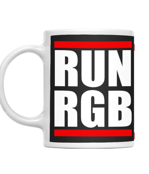 Run RGB Póló - Ha Graphic Designer rajongó ezeket a pólókat tuti imádni fogod!